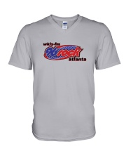 WKLS Atlanta - 96 Rock V-Neck T-Shirt thumbnail