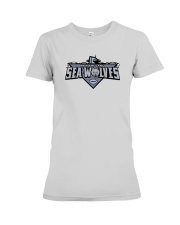 New England Sea Wolves Premium Fit Ladies Tee thumbnail