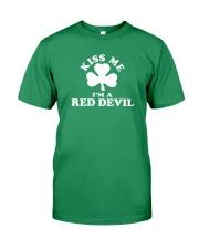Kiss Me I'm a Red Devil Premium Fit Mens Tee thumbnail