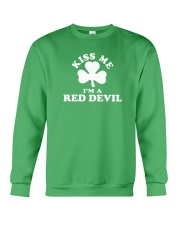 Kiss Me I'm a Red Devil Crewneck Sweatshirt thumbnail