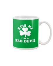 Kiss Me I'm a Red Devil Mug thumbnail