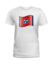 The State Flag of Tennessee  Ladies T-Shirt thumbnail