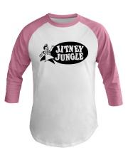 Jitney Jungle Baseball Tee front