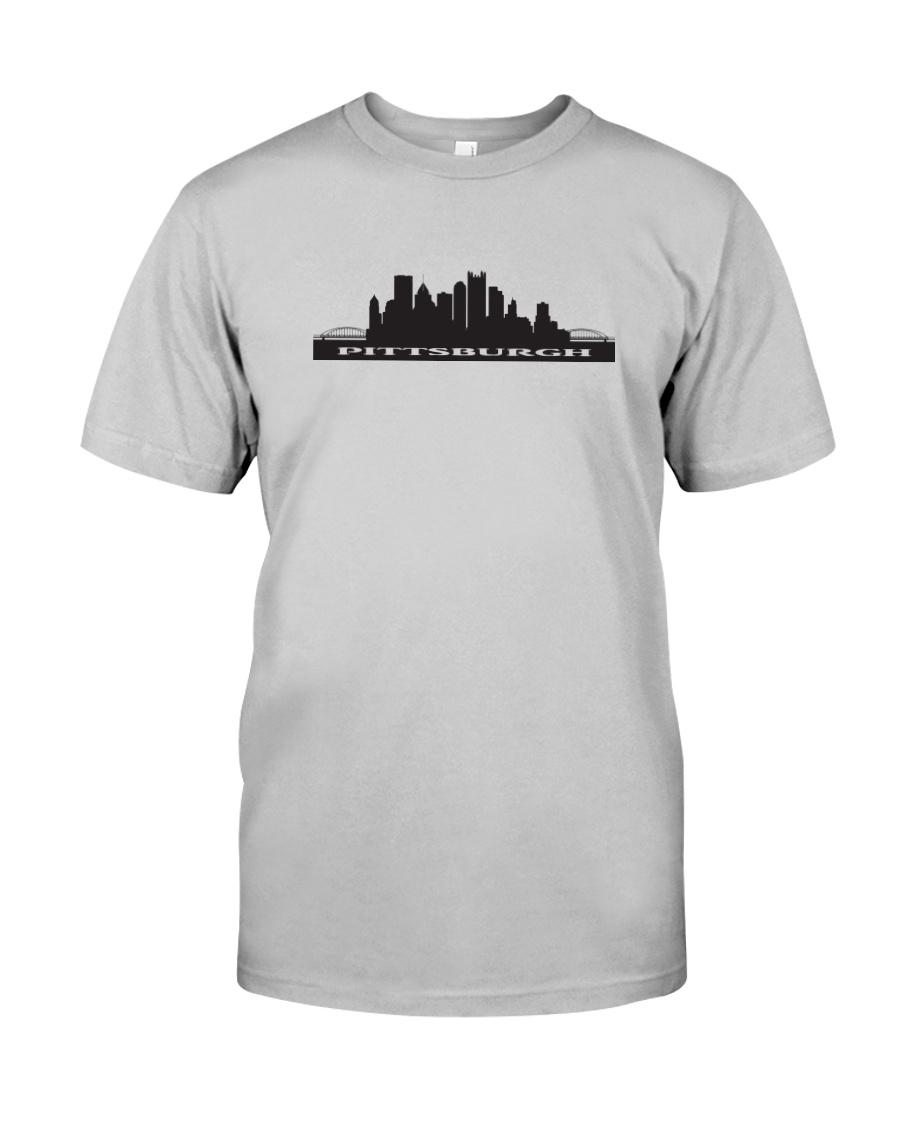 The Pittsburgh Skyline Classic T-Shirt