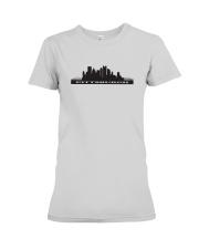 The Pittsburgh Skyline Premium Fit Ladies Tee thumbnail