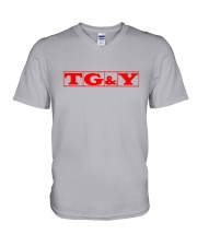 TG and Y V-Neck T-Shirt tile