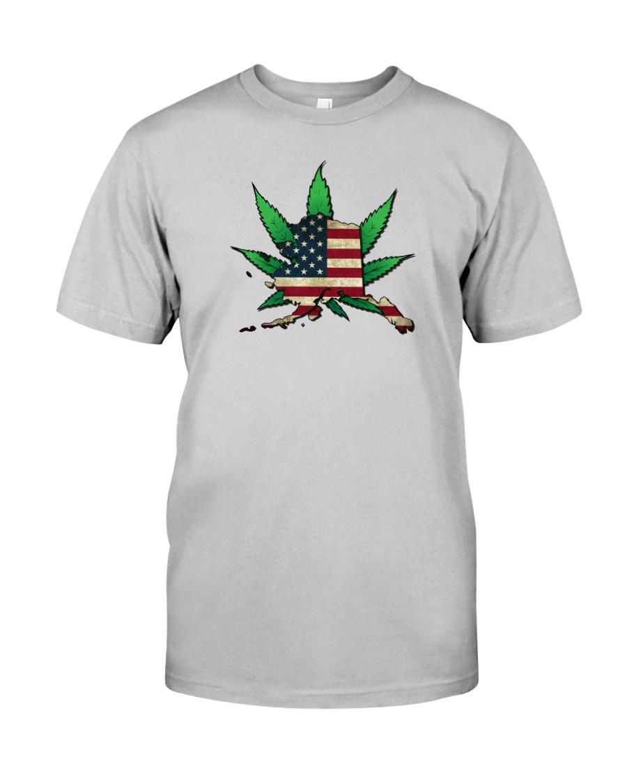 Alaska - Marijuana Freedom  Classic T-Shirt