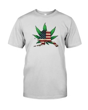 Alaska - Marijuana Freedom  Premium Fit Mens Tee thumbnail