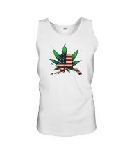 Alaska - Marijuana Freedom  Unisex Tank thumbnail