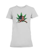 Alaska - Marijuana Freedom  Premium Fit Ladies Tee thumbnail