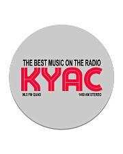 KYAC - Seattle Washington Circle Coaster thumbnail