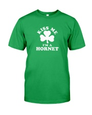 Kiss Me I'm a Hornet Classic T-Shirt front
