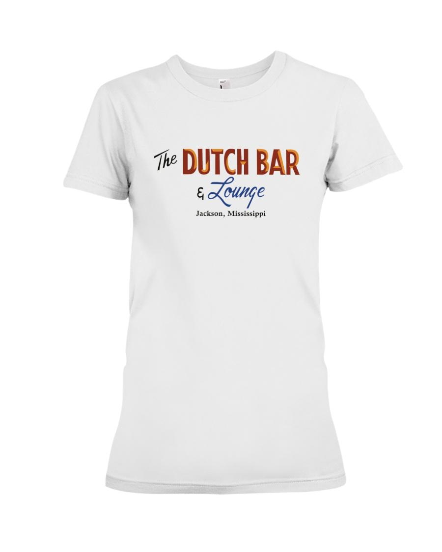 The Dutch Bar - Jackson Mississippi Premium Fit Ladies Tee