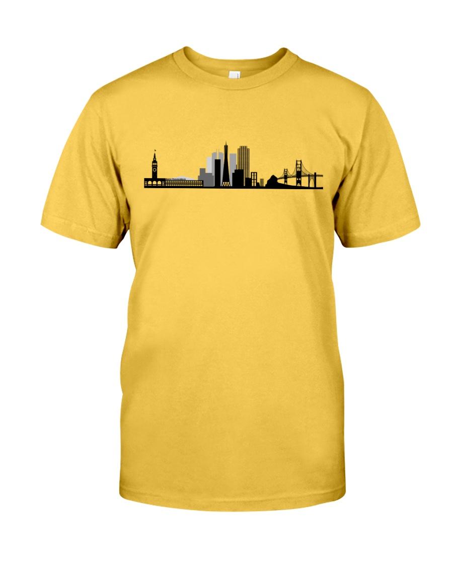 The San Francisco Skyline Classic T-Shirt