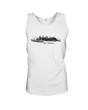 The Los Angeles Skyline Unisex Tank thumbnail