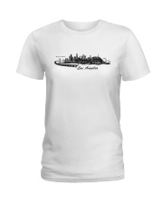 The Los Angeles Skyline Ladies T-Shirt thumbnail