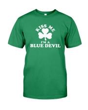 Kiss Me I'm a Blue Devil Premium Fit Mens Tee thumbnail