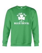 Kiss Me I'm a Blue Devil Crewneck Sweatshirt thumbnail