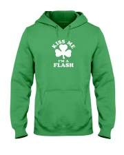 Kiss Me I'm a Flash Hooded Sweatshirt thumbnail