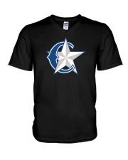 Charlotte Rangers V-Neck T-Shirt thumbnail