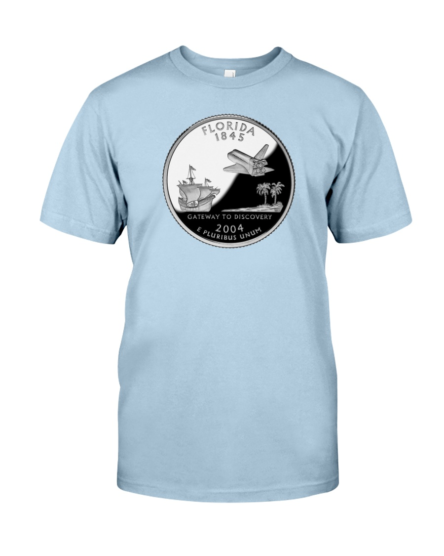 U S Quarter - Florida 2004 Classic T-Shirt