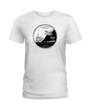 U S Quarter - Florida 2004 Ladies T-Shirt thumbnail