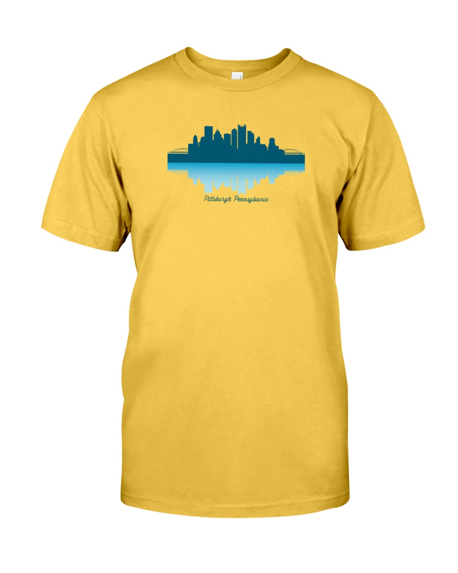 The Pittsburgh Skyline Classic T-Shirt
