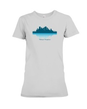 The Pittsburgh Skyline Premium Fit Ladies Tee thumbnail
