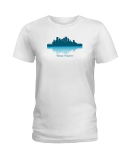 The Pittsburgh Skyline Ladies T-Shirt thumbnail