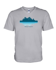 The Pittsburgh Skyline V-Neck T-Shirt thumbnail
