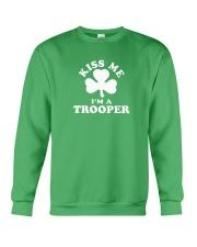Kiss Me I'm a Trooper Crewneck Sweatshirt thumbnail