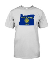 State Flag of Oregon Premium Fit Mens Tee thumbnail