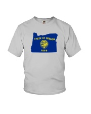 State Flag of Oregon Youth T-Shirt thumbnail