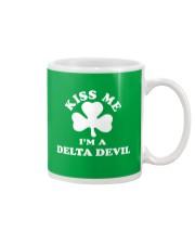 Kiss Me I'm a Delta Devil Mug thumbnail