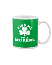 Kiss Me I'm a Red Rebel Mug thumbnail