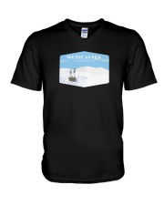 White Sands National Park - New Mexico V-Neck T-Shirt thumbnail