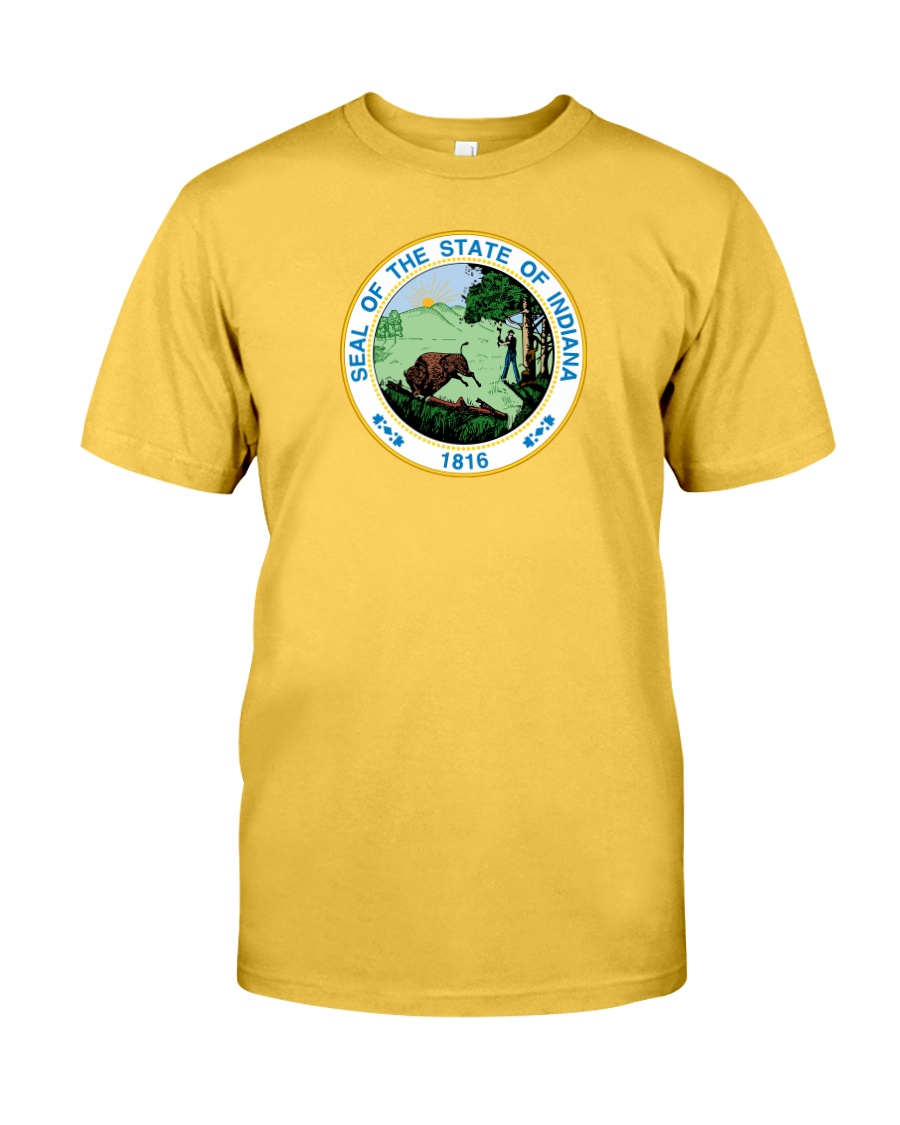 Great Seal of the State of Indiana Classic T-Shirt