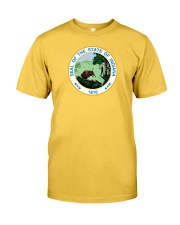 Great Seal of the State of Indiana Classic T-Shirt front