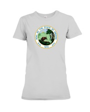 Great Seal of the State of Indiana Premium Fit Ladies Tee thumbnail