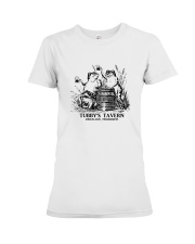 Tubby's Tavern - Ridgeland Mississippi Premium Fit Ladies Tee tile
