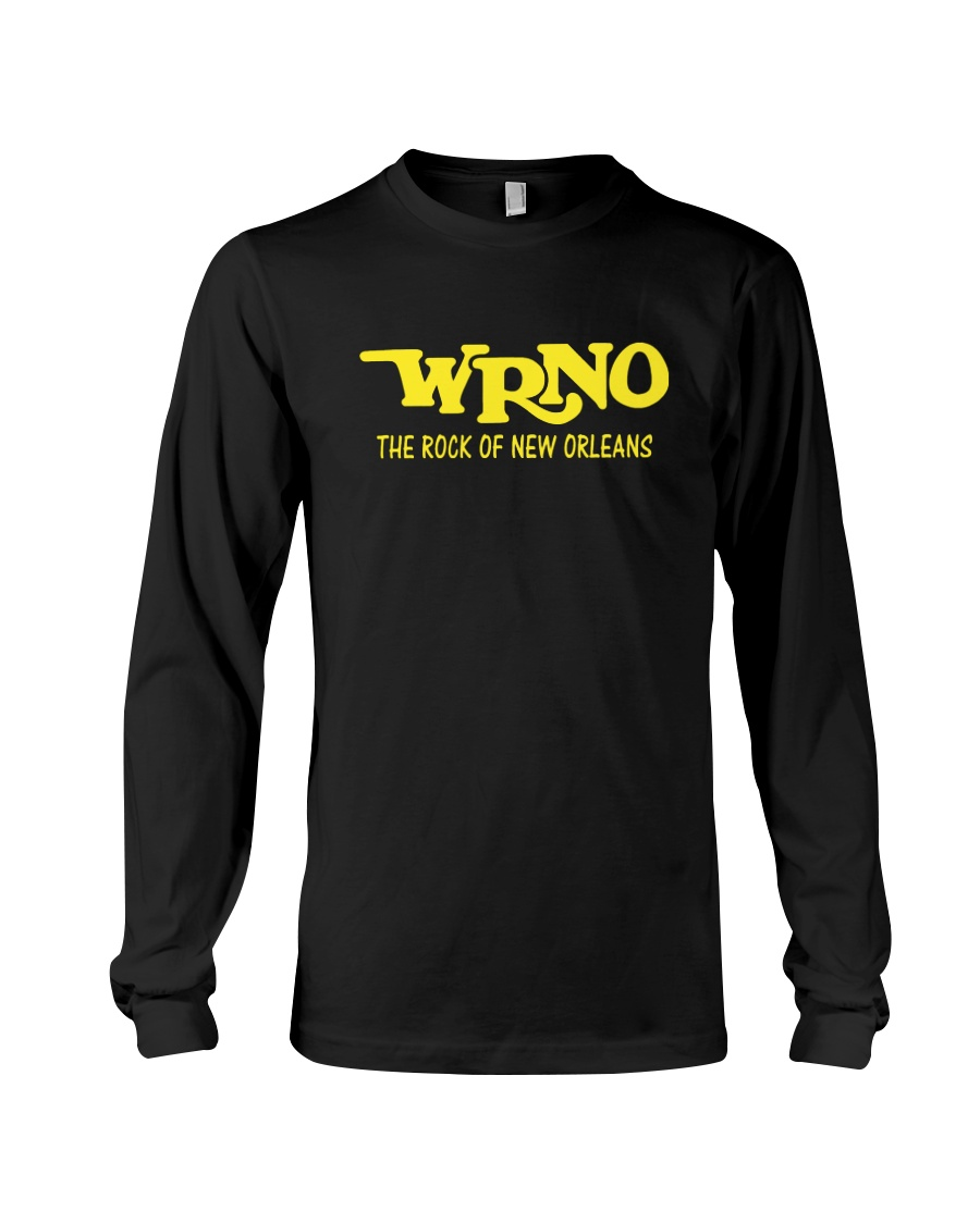 WRNO The Rock of New Orleans Long Sleeve Tee