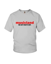 Musicland - We Got What's Hot Youth T-Shirt thumbnail