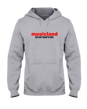 Musicland - We Got What's Hot Hooded Sweatshirt thumbnail