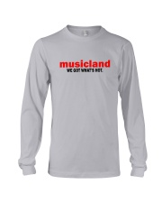 Musicland - We Got What's Hot Long Sleeve Tee thumbnail