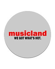 Musicland - We Got What's Hot Circle Coaster thumbnail