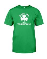 Kiss Me I'm a Timberwolf Classic T-Shirt front