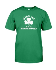 Kiss Me I'm a Timberwolf Premium Fit Mens Tee thumbnail