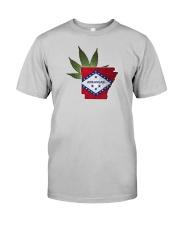 Arkansas - Marijuana Freedom Classic T-Shirt front