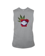 Arkansas - Marijuana Freedom Sleeveless Tee thumbnail