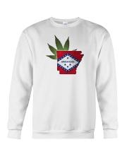 Arkansas - Marijuana Freedom Crewneck Sweatshirt thumbnail